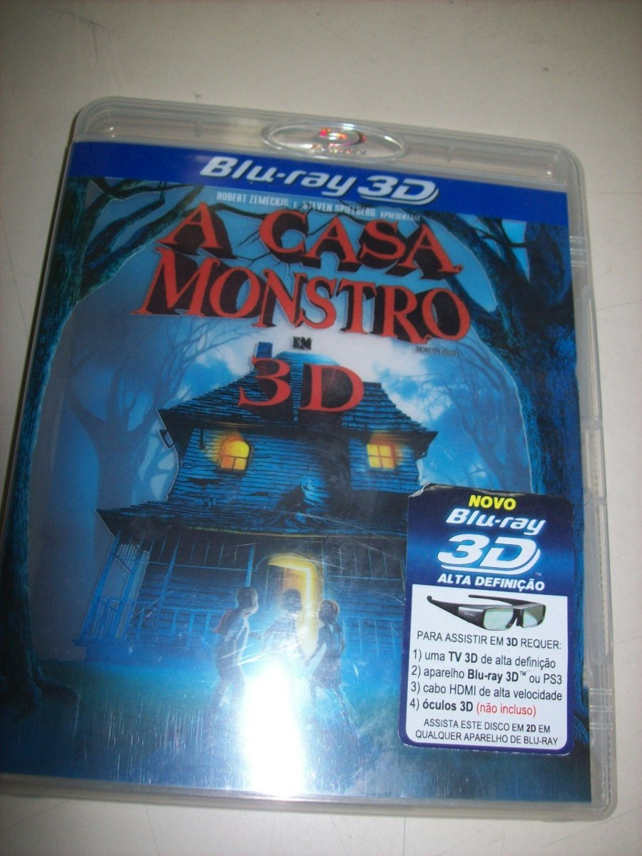 Blu Ray - A Casa Monstro - 3d - Nacional - Usado - R  19,00 em ... c432a06843