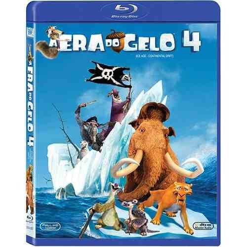 blu-ray a era do gelo 4 - novo lacrado