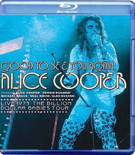 blu - ray - alice cooper - good to see you again