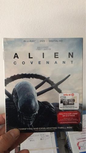 blu ray alien covenant  target somos cine 3-dmania