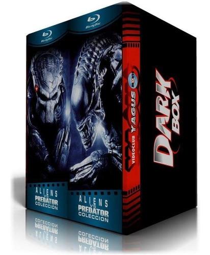 blu-ray aliens & depredador películas colección