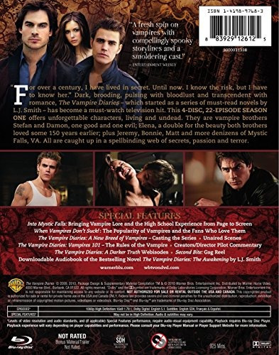 blu-ray : alternative al - the vampire diaries:the compl...