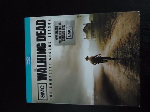 blu-ray anchor bay:  the walking dead: the complete 2 season