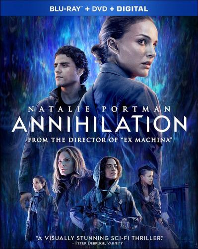 blu-ray : annihilation (with dvd, dolby, ac-3, digitally...