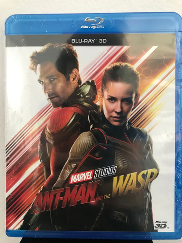blu-ray ant man and the wasp 3d / de marvel
