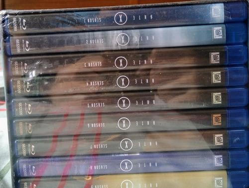 blu-ray arquivo x - gift set - 9 temporadas - 55 discos