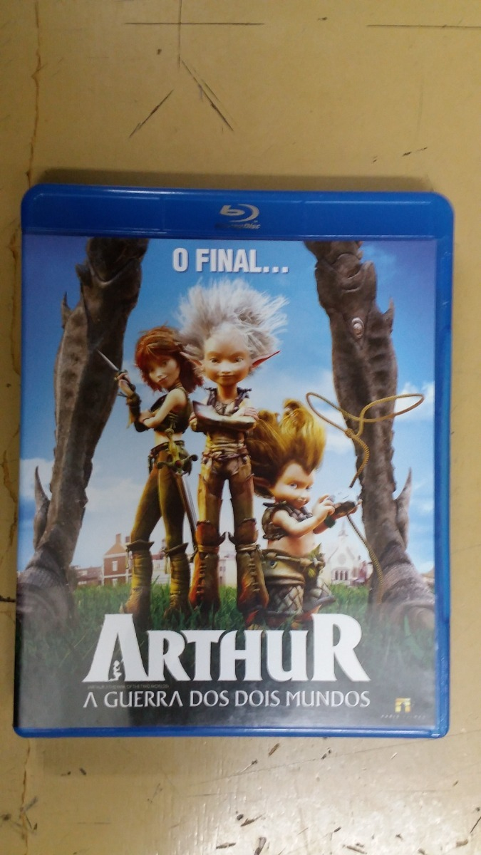 Blu Ray Arthur A Guerra Dos Dois Mundos R 39 90 Em Mercado Livre