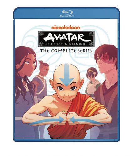 blu-ray avatar the last airbender / la serie completa