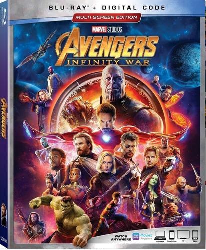 blu-ray : avengers: infinity war (digital theater system,...