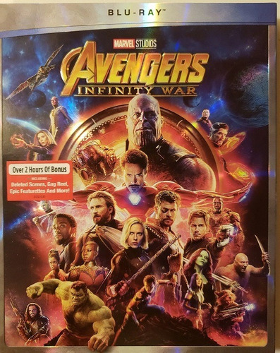 blu ray avengers infinity war marvel dc original