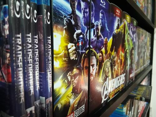 blu-ray avengers peliculas colección marvel