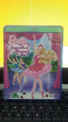 blu-ray barbie e as sapatilhas mágicas