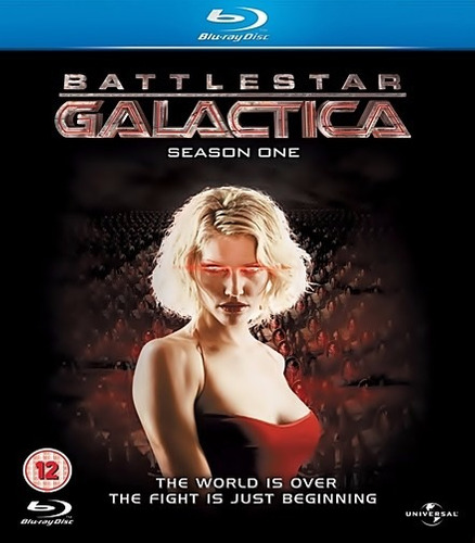 blu ray - battlestar galáctica - 1° temporada