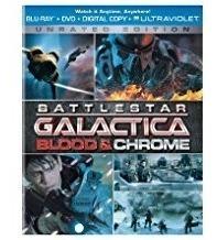 blu-ray  battlestar galactica: blood & chrome envío gratis