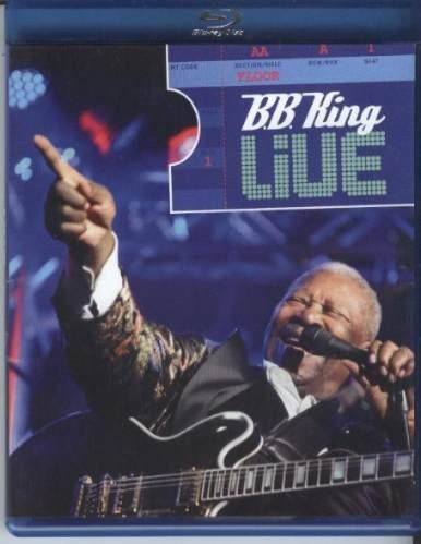 blu-ray b.b. king - live (original e lacrado)