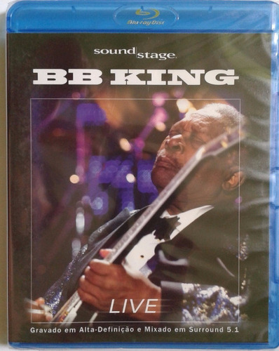 blu-ray bb king - sound stage - live - lacrado