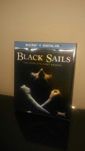 blu ray black sails season 1 (con cover lenticular)