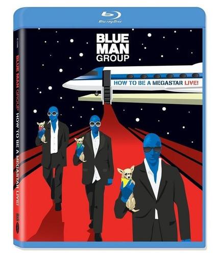 blu-ray blue man group: how to be a megastar live! importado