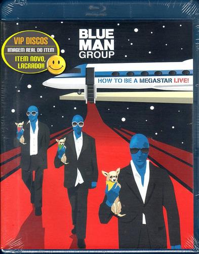 blu ray blue man group how to be a megastar live - lacrado