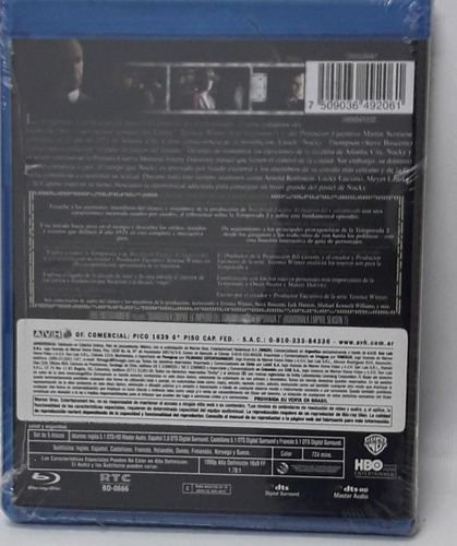 blu-ray boardwalk empire temporada 2 5 cds
