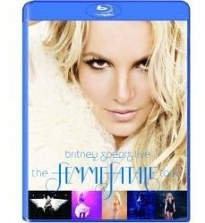 blu ray britney spears live: the femme fatale tour importado