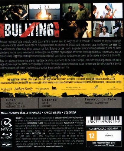 blu - ray bullying