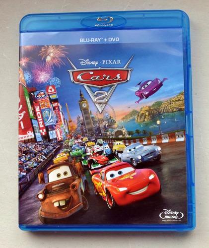 blu ray cars 2 + dvd