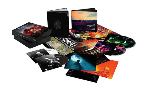 blu-ray + cd david gilmour live at pompeii deluxe 4 discos