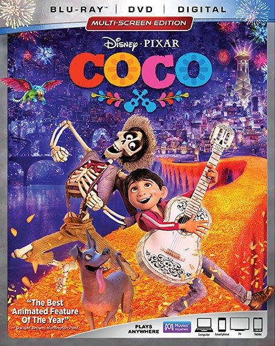 blu-ray : coco (with dvd, 3 pack)