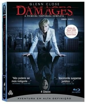blu-ray damages - 1ª temporada - 4 discos - dublado -lacrado