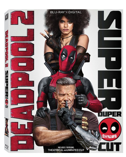 blu-ray : deadpool 2 (with dvd, subtitled, widescreen, d...