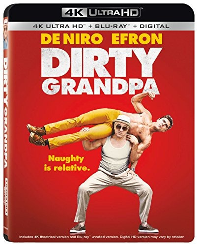 blu-ray : dirty grandpa (with blu-ray, 4k mastering, wid...