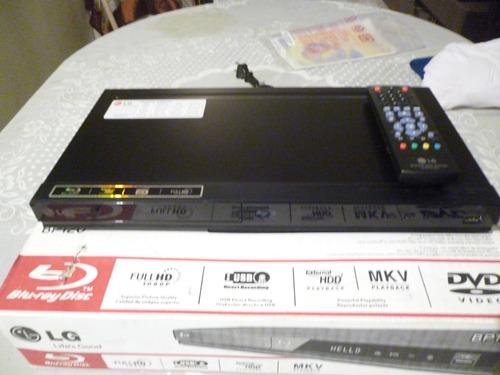 blu-ray disc lg modelo bp 120 full hd (neg. 45$) 100% orig