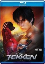 blu-ray do filme tekken ( luke gross)
