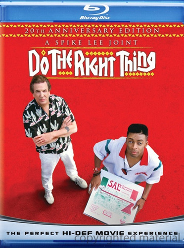 blu-ray do the right thing / haz lo correcto / de spike lee