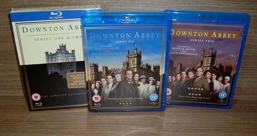 blu-ray downton abbey - 1 & 2 temporadas / boxset [uk] s/ pt
