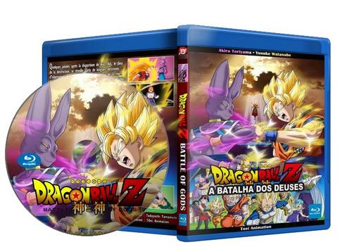 blu-ray dragon ball z - a batalha dos deuses