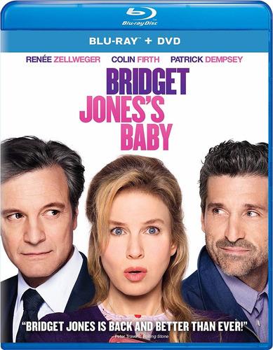 blu-ray + dvd bridget jones´s baby / bebe de bridget jones