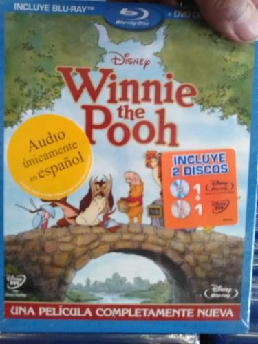 blu ray dvd clasico disney winnie the pooh 2011 envio gratis
