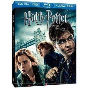 blu ray + dvd harry potter e as relíquias da morte 1 - dub/l