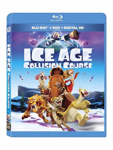 blu-ray + dvd ice age 5 collision course era de hielo 5