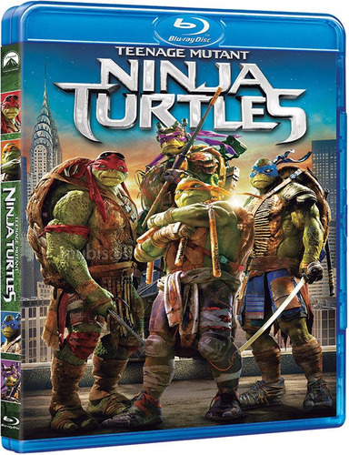 blu ray + dvd las tortugas ninja teenage mutant envio gratis