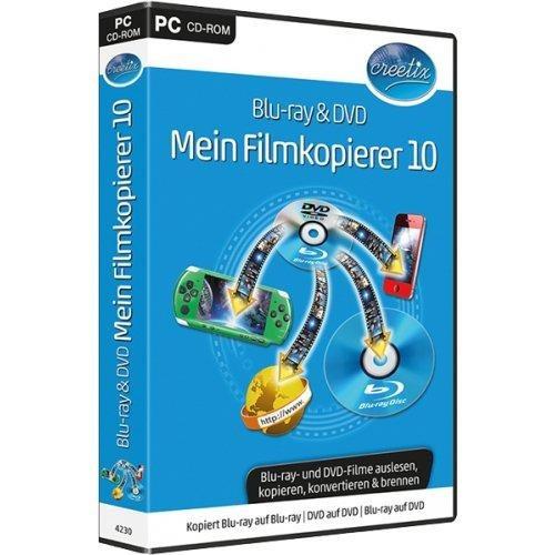blu-ray & dvd mein filmkopierer 10. für windows 8, windows 7