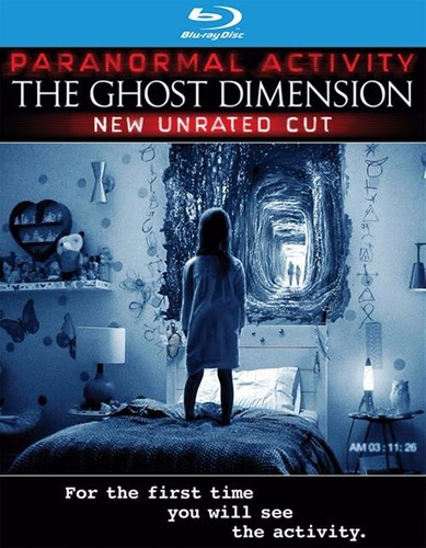 blu-ray + dvd paranormal activity the ghost dimension