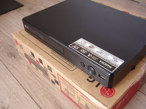blu ray dvd player 3d lg bp 450 -usado-
