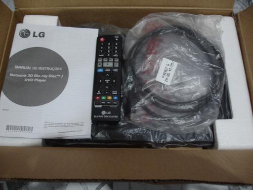 blu ray dvd player smart 3d  lg  bp 440 netflix e youtube