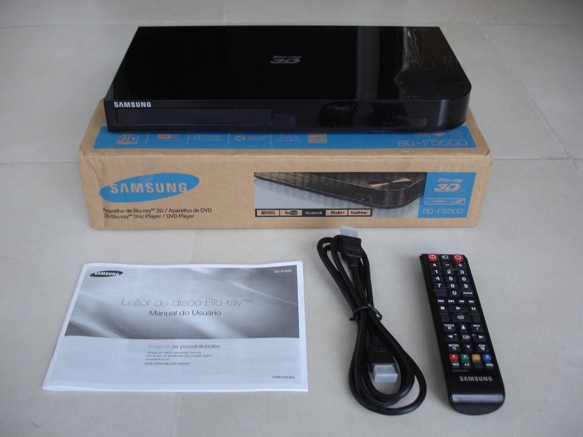 Imágenes de Manual Blu Ray Dvd Player 3D Samsung Bd F5500