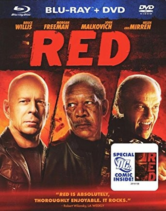 blu ray dvd red rojo morgan freeman bruce willis envio grati