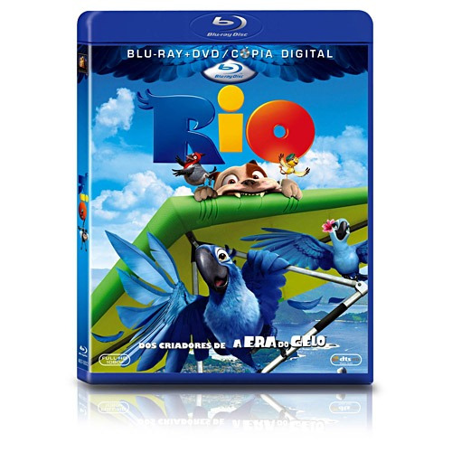 blu-ray + dvd rio - lacrado