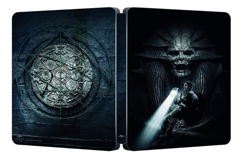 blu-ray + dvd the mummy / la momia (2017) steelbook